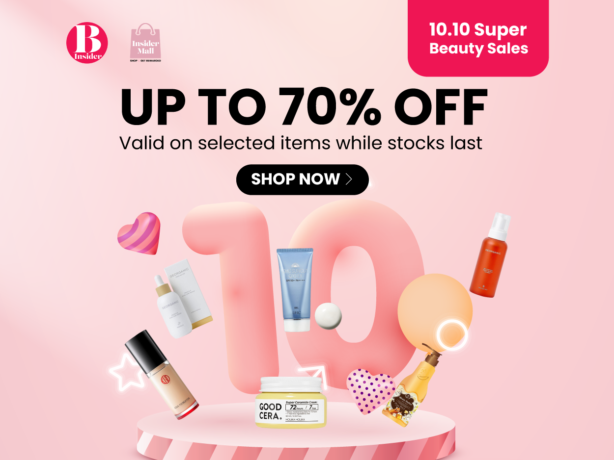 10.10 Super Beauty Sales Up To 70% Off
