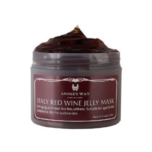 Annie's Way – Italy Red Wine Jelly Mask