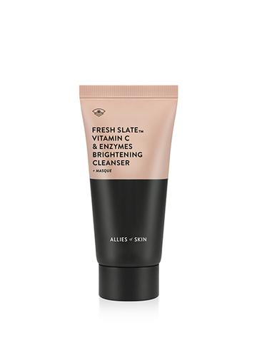 Allies of Skin Fresh Slate™ Vitamin C & Enzymes Brightening Cleanser + Masque
