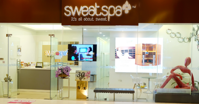 sweat spa in atria