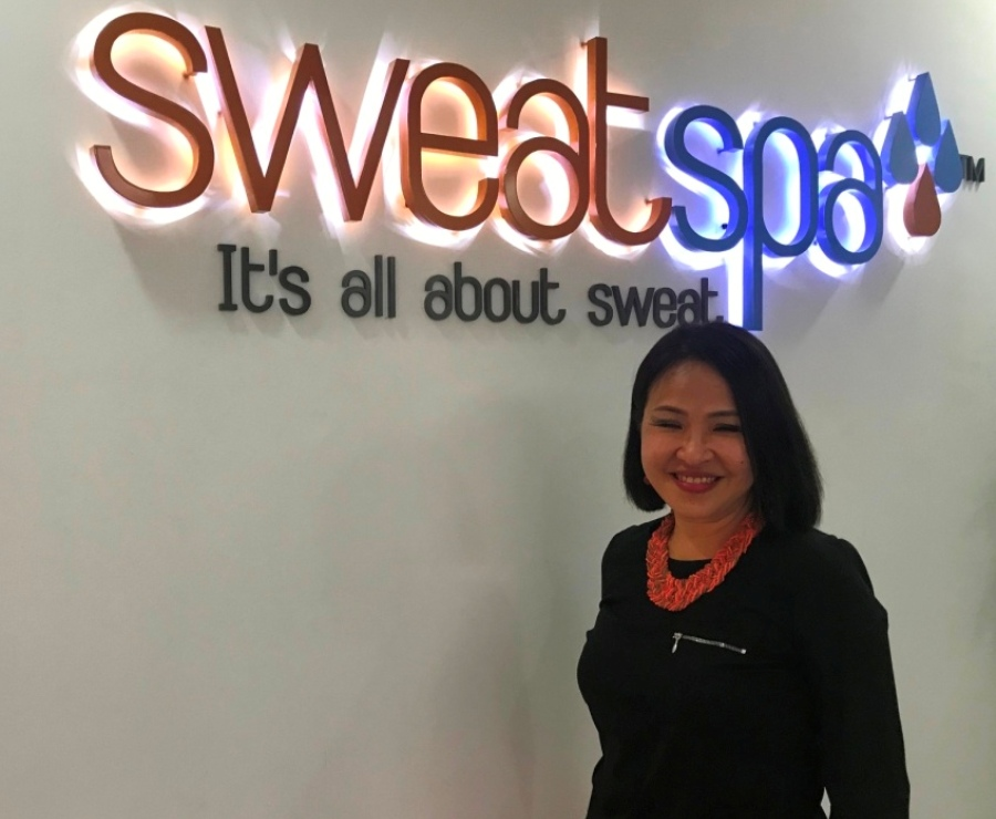 sweat spa