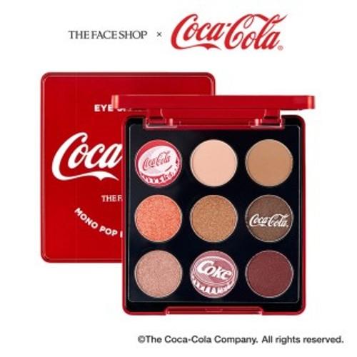 The Face SHop Coca Cola Monopop Eyes 01 Coke Red
