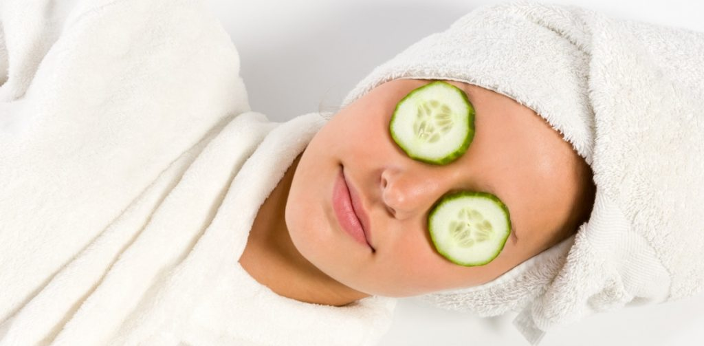 natural food mask for whitening