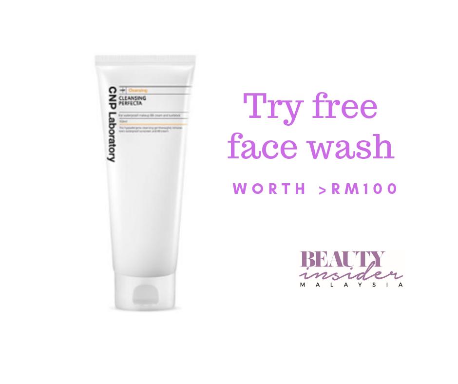 cnp face wash