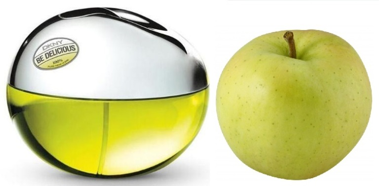 DKNY Be Delicious green apple
