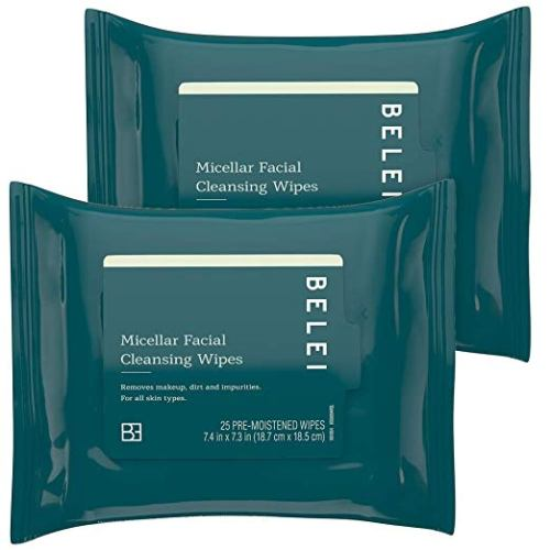 Oil-Free Micellar Facial Cleansing Wipes