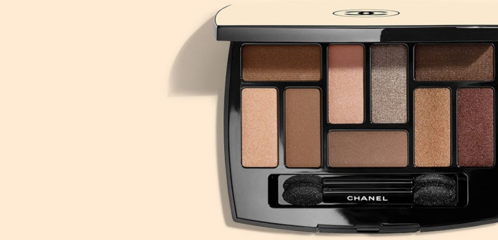 chanel les beiges eye shadow palette