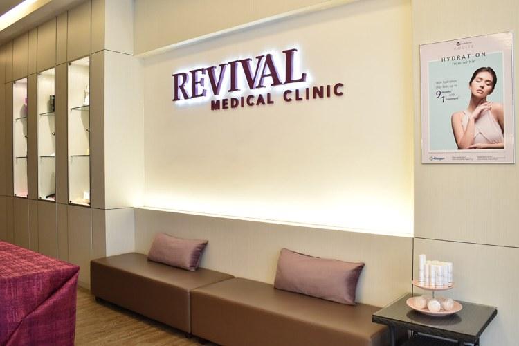 revival clinic interior