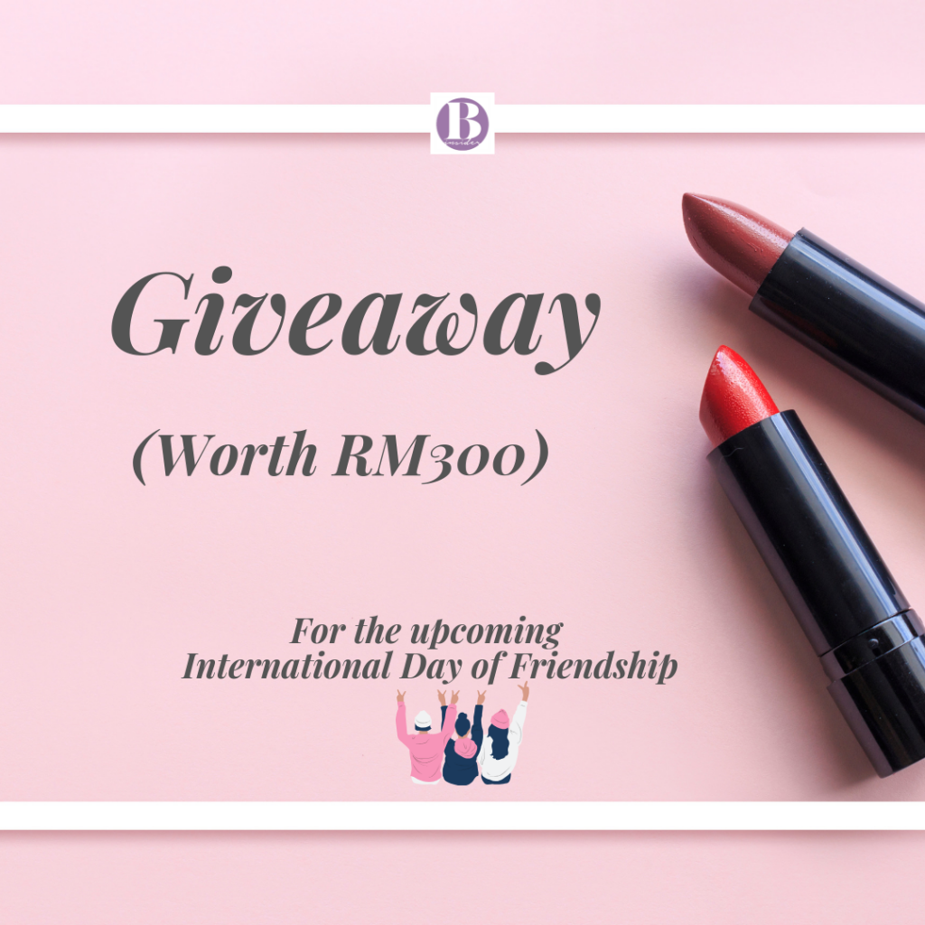 Giveaway by Beauty Insider Malaysia