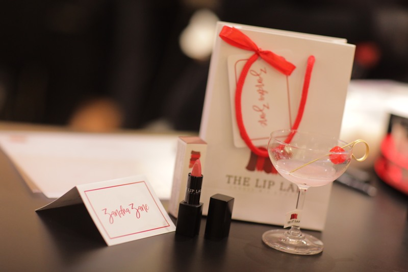 the lip lab lipstick and packaging