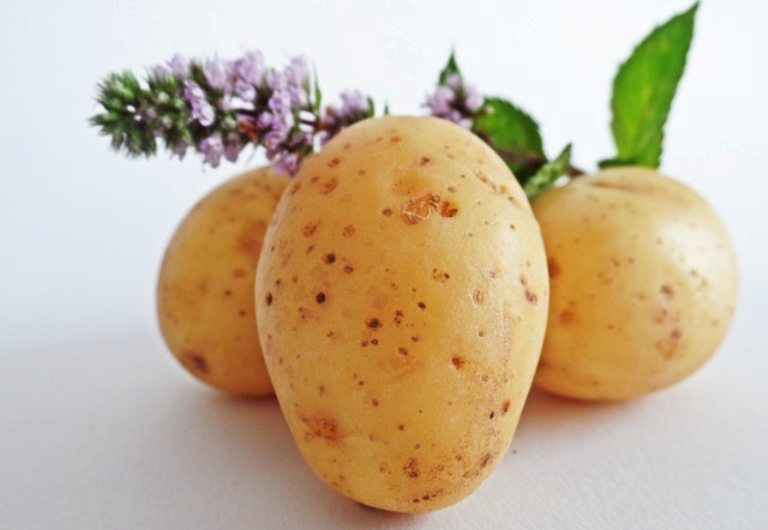 three potatoes