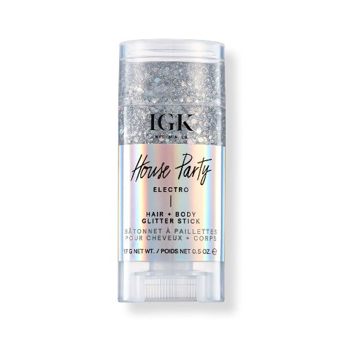 IGK house party electro hair and body glitter stick