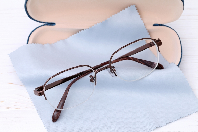 semi-rim glasses for round face shape