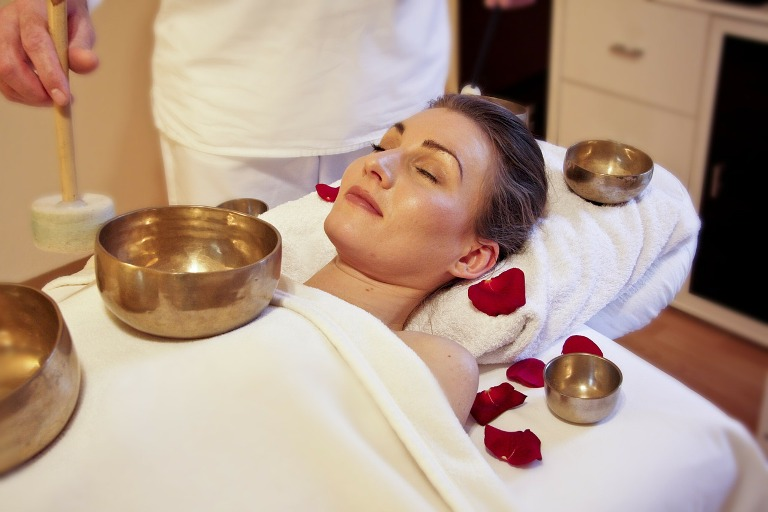 singing bowl massage