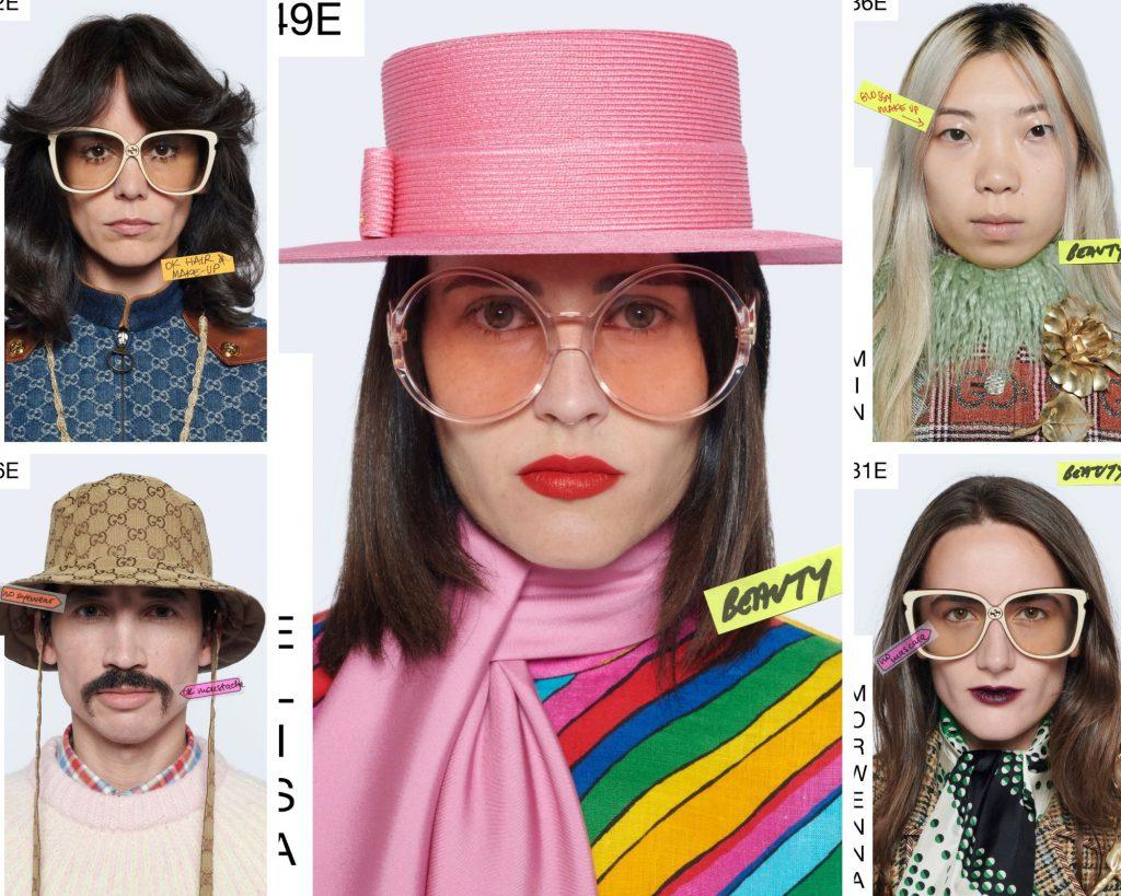 Gucci Epilogue makeup looks
