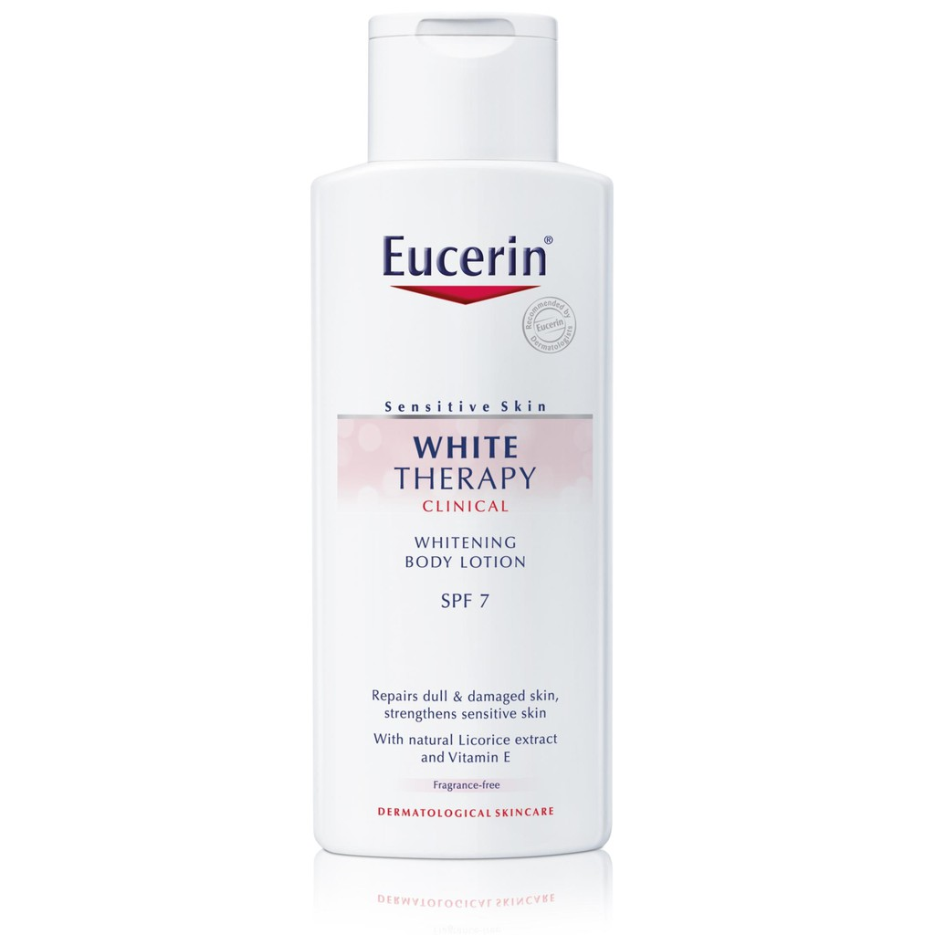 eucerin white body lotion