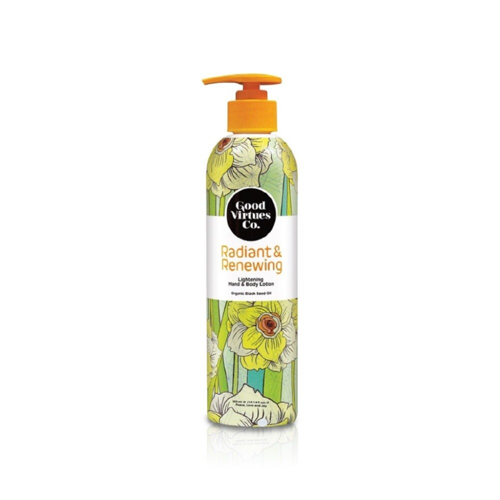 good virtues co hand and body lotion